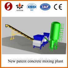 Hot!!!! 20-25m3/h mobile concrete batching plant on sale