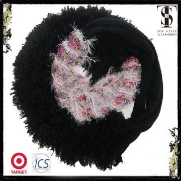 El nuevo diseño de la bufanda de la piel del faux