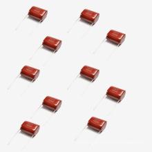 Capacitor Metalizado de Filme de Poliéster Mkt-Cl21 3.3UF 10% 250V AC