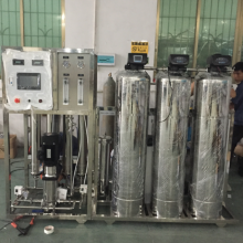 Full automatice 1000LPH RO water system /water treatment system with stainless steel tank