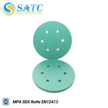 Disco de lijado de óxido de aluminio verde con alta eficiencia para pulir