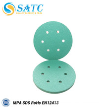 Green Aluminium Oxide Sanding Disc with High Efficiency for Polishing