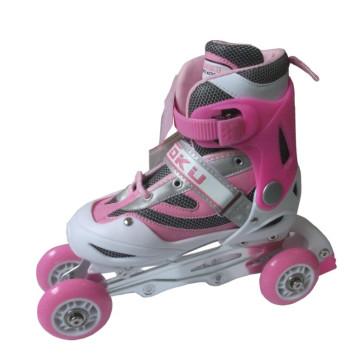 Skate novo do patim do rolo das crianças 2013 Skate ajustável do quadrilátero (CK-258)