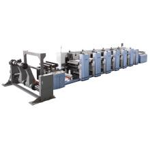 Многоцветная высокоскоростная флексопечатная машина для бумажного стакана