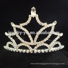 wedding hair accessories full crystal tiara headband