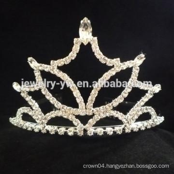 wedding hair accessories full crystal tiara headband