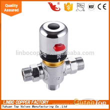 LB-Gutentop 1/2 * 3/4 pulgadas de alta calidad de latón tubería termostática Linbo válvula de mezcla de control de la temperatura del agua válvula de mezcla termostática de latón, válvula de control de temperatura