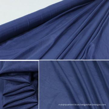 Tejido de viscosa de tela de rayas viscosa suave