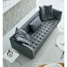 Chestfiled Sofa Stainless Steel Legs Leather Sofa Set Chinese Furniture Import Sofa Set Designs Leather Chinese Furniture Sofa