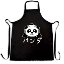 avental engraçado de japão com caráteres da caixa