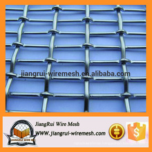 Crimped wire mesh stainless steel /galvanized crimped wire mesh