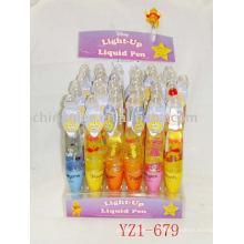 Stift Leuchten, leuchten auf flüssige Stift