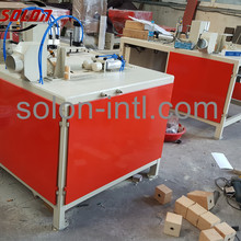 Timber Cutter for wood pallet block machine
