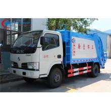 Camión de basura nuevo del compresor de Dongfeng 95hp 4cbm