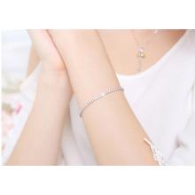 Bracelet de tennis en diamant en argent sterling