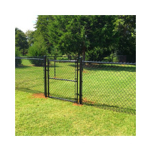 Wholesale zinc coated chain link fence hot dip galvanized 8 ft chain link fence for sale