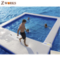 Hot sale inflatable swimming pool for sea