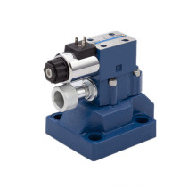hydraulic solenoid relief valve for hydraulic bending machine