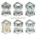 Mirror Stainless Steel Passenger Elevator for Office Buildings