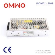 Fuente de alimentación de interruptor de salida dual variable de CA a CC de Wxe-100ned-B