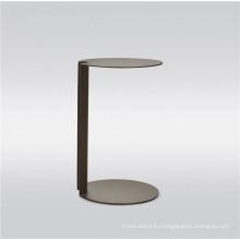 Приставной столик из нержавеющей стали