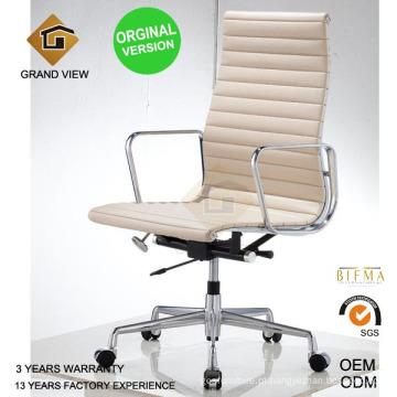 A versão orginal Eames Office Manager a mobília de couro (GV-EA119)