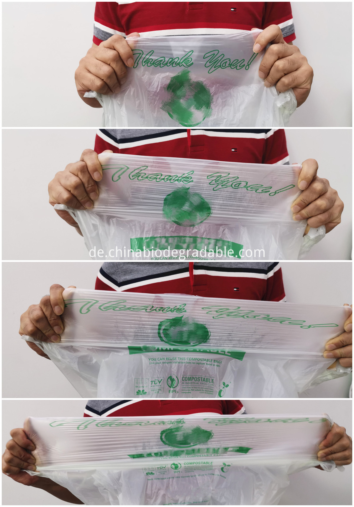 Eco Carrier plastic Bags
