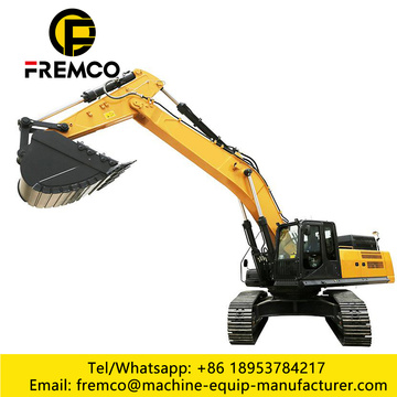 Crawler Excavator For Plant Foundation