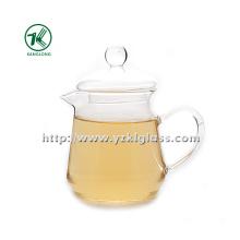 Clear Single Wall Glass Teapot de SGS, BV (400ML)