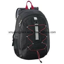 Moda preto 30 litros versátil mochila saco de viagem