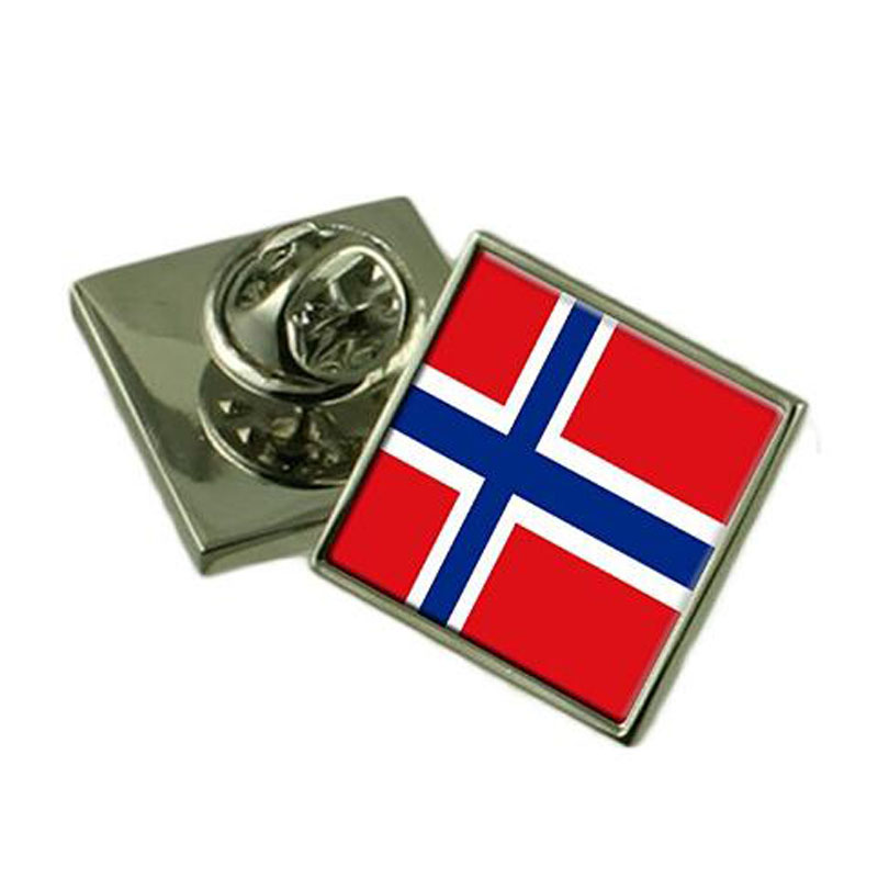 Norway Flag Lapel Pin Badge