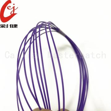 Purple Non-halogen Cable Masterbatch Granules