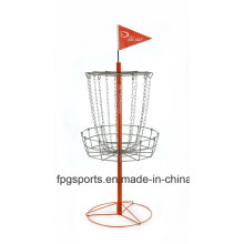 Disc Golf Baske with Logo Flag (DG002CO)