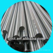 Vente directe d'usine Prime H11 / H9 Acier inoxydable solide Barre ronde AISI 410, Surface lisse / finition brillante