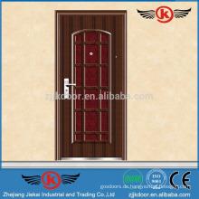 JK-S9017 verzinkter Stahl Gusseisen Ofen Tür
