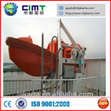 Barco de rescate con pescantes de marco A CCS ABS
