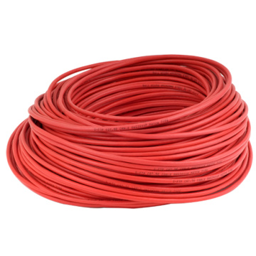 Cat6 100m s/ftp RED LSZH jacket copper solid 26awg lan cable