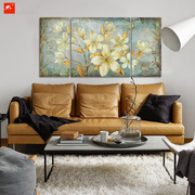Light Yellow Flowers Oil Painting Set