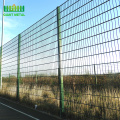 PVC+coating+double+wire+mesh+garden+fence