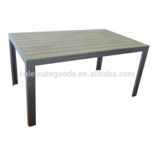 Uplion MT9035 poly wood outdoor dinning table