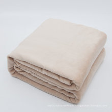 100% Plush Microfiber Soft Brush Fabric, Super Warm, Lightweight & Easy Care Fleece Blanket