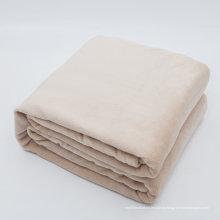 Tela macia da escova de Microfiber do luxuoso de 100%, cobertor super morno, de pouco peso & fácil do velo