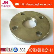 Bride filetée en acier à l'acier au carbone Pn10 / 16 Dn10-1200