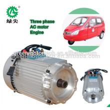 moteur à moyeu sans brosse à engrenages à vitesse réduite de la voiture électrique 5Kw