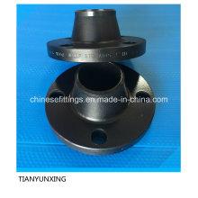 Aço carbono A105 forjado Flange com pintura preta