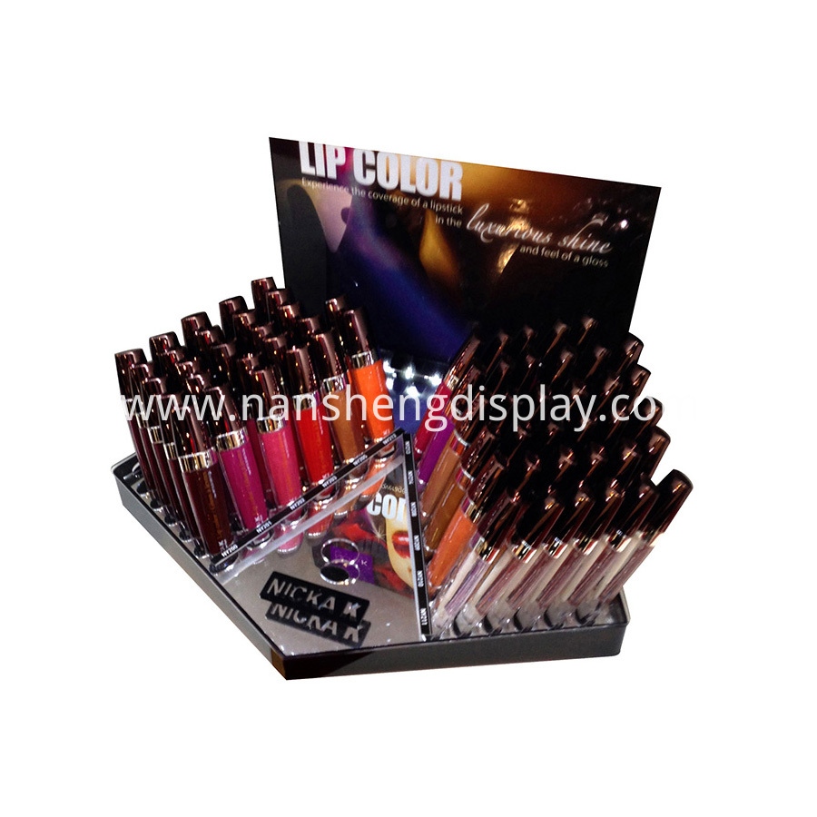 Acrylic Makeup Products Display Showcase
