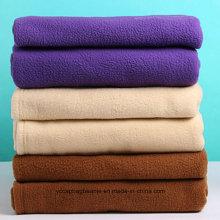 100% полиэстер Мягкие и теплые одеяла для путешествий