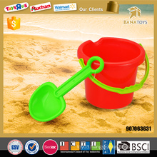 Newest beach toy for summer beach bucket with shovel