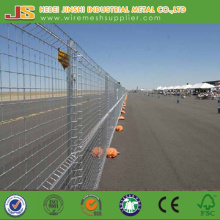 Outdoor Used Temporary Construct Security Fence for Safety with Feet