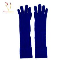 Gants personnalisés de cachemire de laine d'hiver de femmes personnalisées